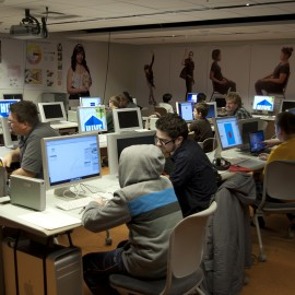 Hard at Work During the Fall 2012 Semester